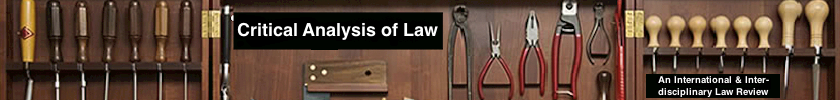 CAL: Critical Analysis of Law